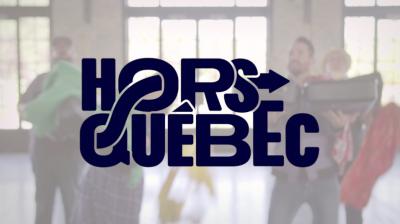 Hors Quebec Title Logo